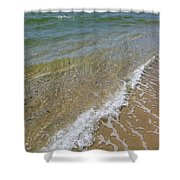 Summer Waves Shower Curtain