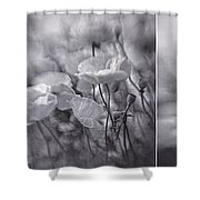Summer Whispers Collage Shower Curtain