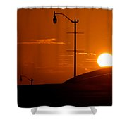 Summers First Day Shower Curtain