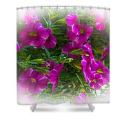 Summers Flowers Shower Curtain