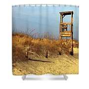 Summer's Over Shower Curtain