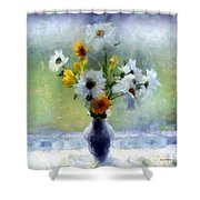 Summerstorm Still Life Shower Curtain