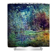 Distant Memory Shower Curtain