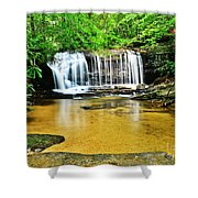 Summertime Refreshment Shower Curtain