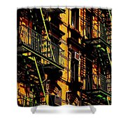 Summertime Sizzle Shower Curtain