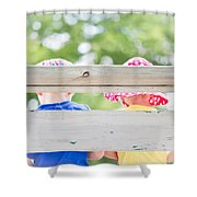 Summertime Sweetness - Deer Creek Days - Glenrock Wyoming Shower Curtain
