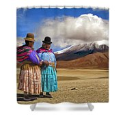 Summit Conference Shower Curtain