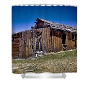 Summitville - Colorado Ghost Town Shower Curtain