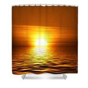 Sun 10 Shower Curtain