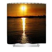 Sun 5 Shower Curtain