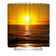 Sun 8 Shower Curtain
