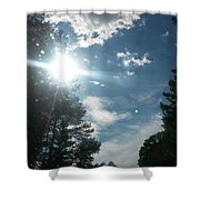 Sun And Country Shower Curtain