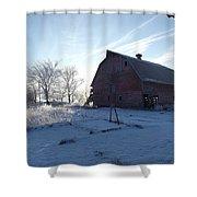 Sun Barn Shower Curtain