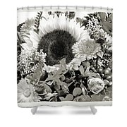 Sun Bunch Shower Curtain