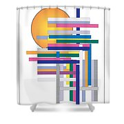 Sun City Shower Curtain