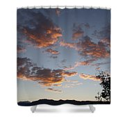 Sun Clouds Shower Curtain