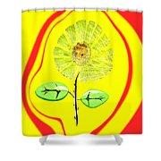 Sun Feng Shui Shower Curtain