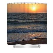 Sun Glistening On The Water Shower Curtain