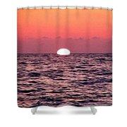 Sun Going Down Shower Curtain