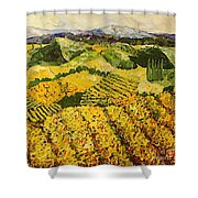 Sun Harvest Shower Curtain