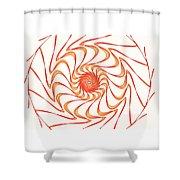 Sun Hat Shower Curtain