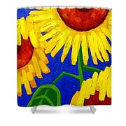 Sun Lovers Shower Curtain
