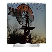 Sun Moon And Wind Shower Curtain