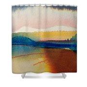 Sun Mountain For Jennifer B Shower Curtain