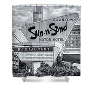 Sun-n-sand Motor Hotel II Shower Curtain