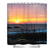Sun On Water Shower Curtain