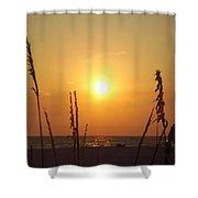Sun Over The Ocean Shower Curtain