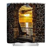 Sun Panorama Shower Curtain