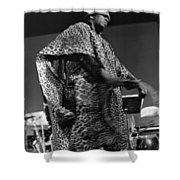 Sun Ra 1968 Shower Curtain by Lee  Santa