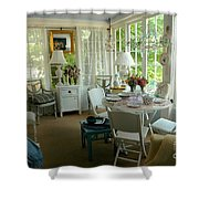 Sun Room Shower Curtain