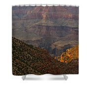 Sun Shining On The Canyons Shower Curtain