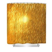 Sun Spot Abstrasct Shower Curtain