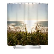 Sun Star At The Beach Shower Curtain