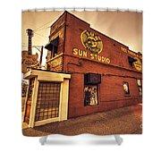 Sun Studios Memphis  Shower Curtain