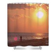 Sun Surf And Sea Shower Curtain