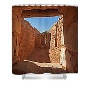 Sun Temple Mesa Verde National Park Shower Curtain