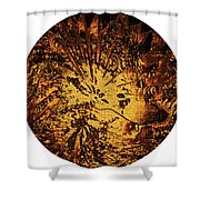 Sun - The Star Sign Of Lion Shower Curtain