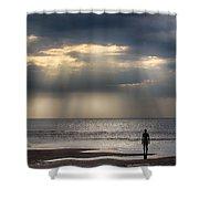 Sun Through The Clouds 1 Shower Curtain