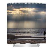 Sun Through The Clouds 2 Shower Curtain
