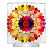 Sun Warmth Shower Curtain