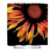 Sun Worshipper Shower Curtain