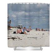 Sunbathers Shower Curtain