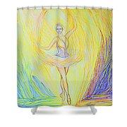 Sunbeam / Moonbeam Shower Curtain