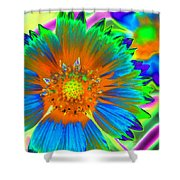 Sunburst - Photopower 2241 Shower Curtain