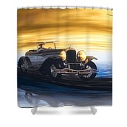 Sunday Drive Shower Curtain