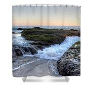Sunday Evening Shower Curtain